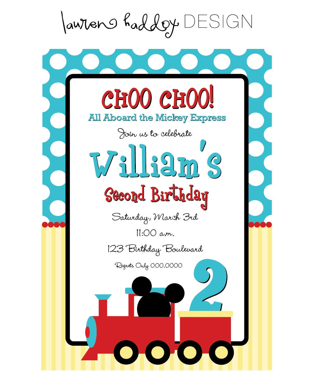 Train Birthday Party Invitations as luxury invitations layout