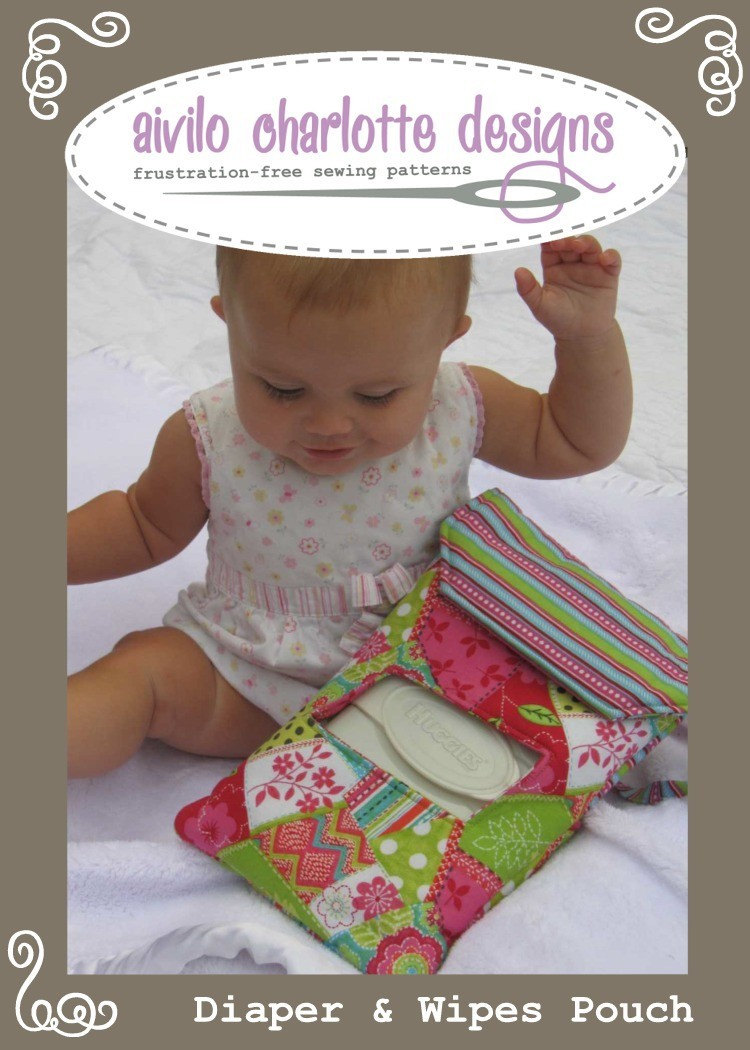 diaper and wipes pouch instant download pdf by aivilocharlotte. Black Bedroom Furniture Sets. Home Design Ideas