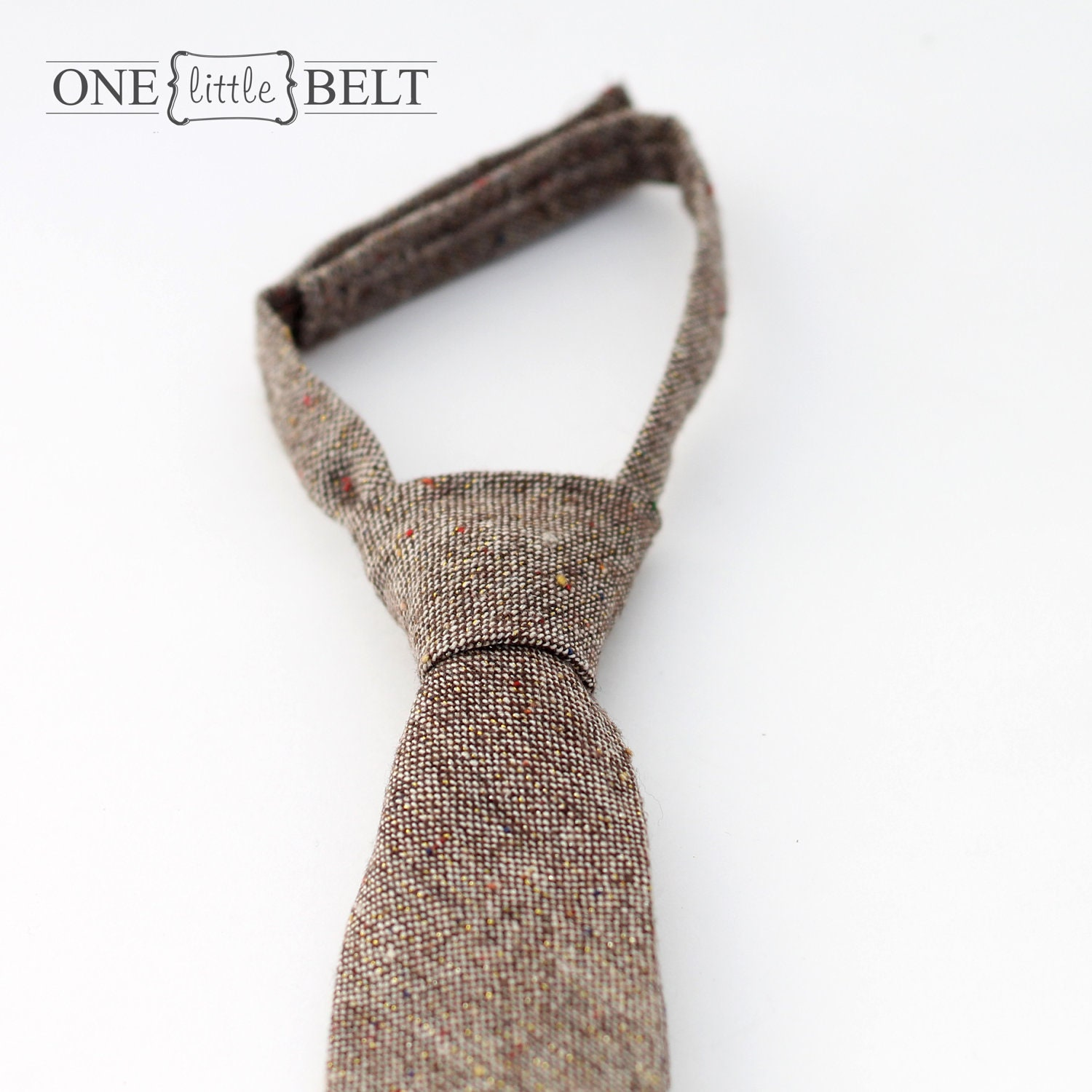 Holiday Tweed Necktie- Toddler Boy 18 months-4T
