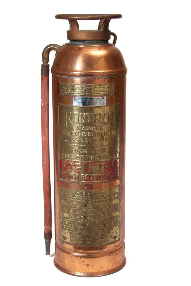Kontrol stempel fire extinguisher