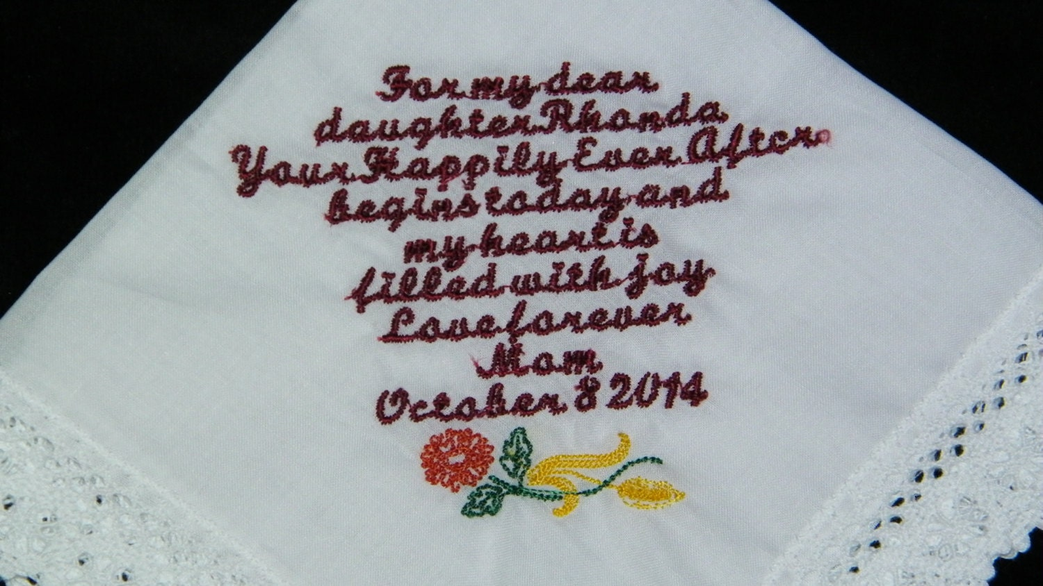 Wedding Shower Gift Ideas For Daughter : Items similar to Bridal Shower Gift from Mother to Daughter Custom ...
