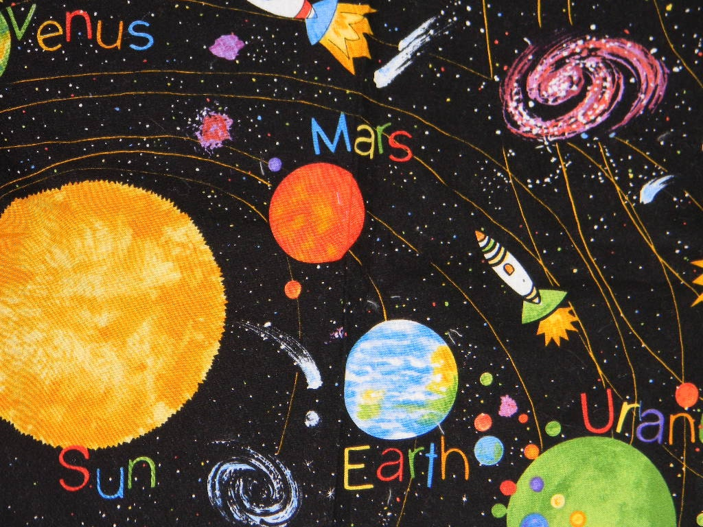 Solar System Crib Bedding - Pics about space