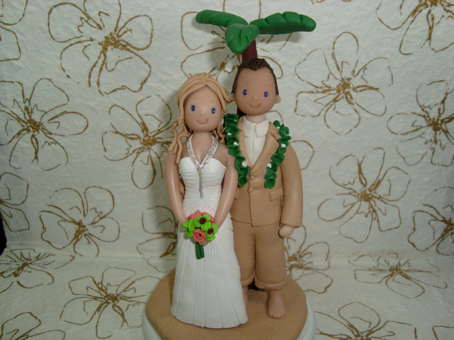 camping wedding cake toppers