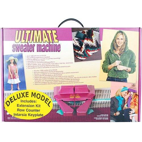 The Ultimate Sweater Machine Deluxe - Knitting Machine