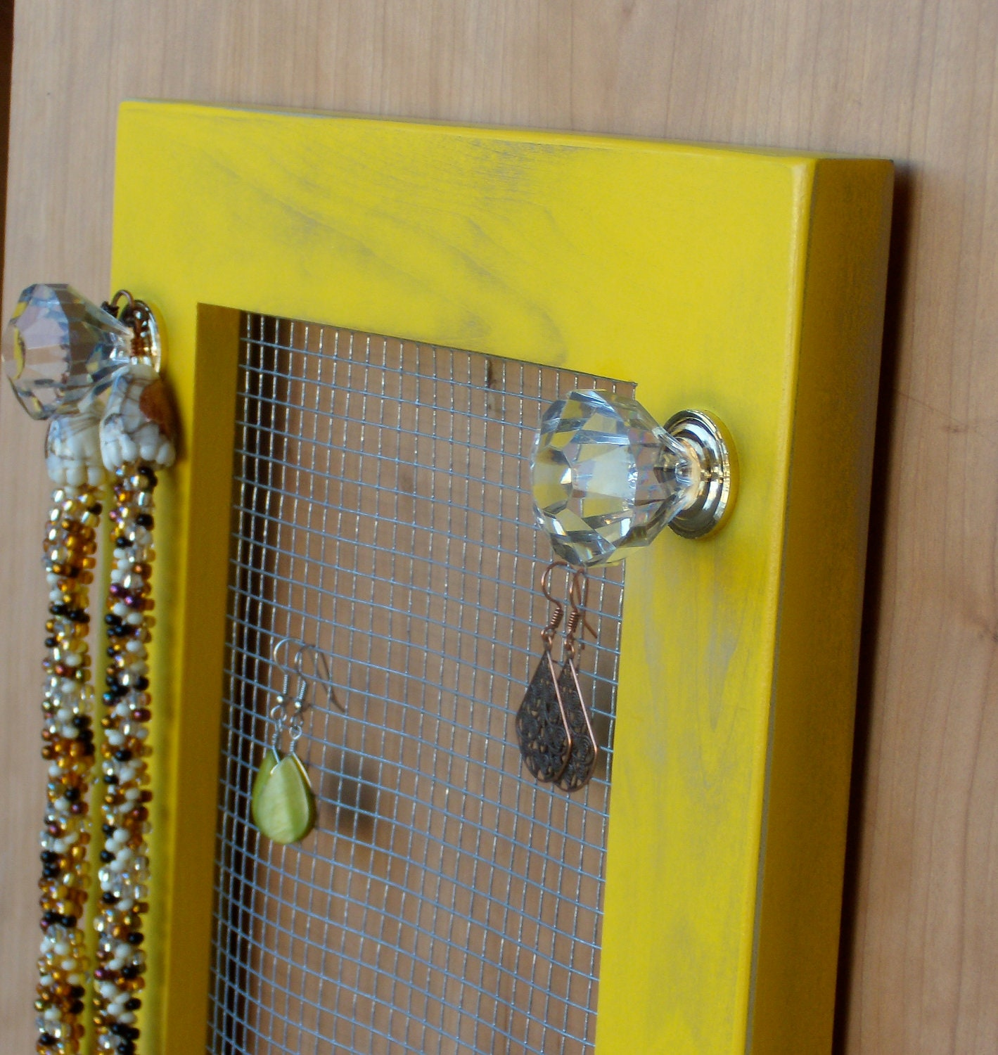 jewelry holder earring holder necklace by blingjewelryholders