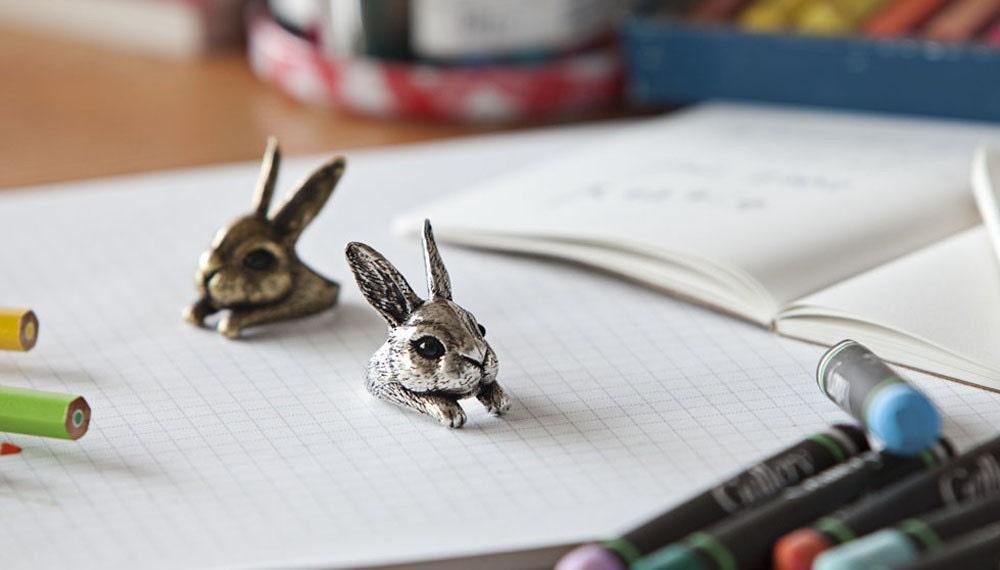 Kopo Metal handmade Bunny ring
