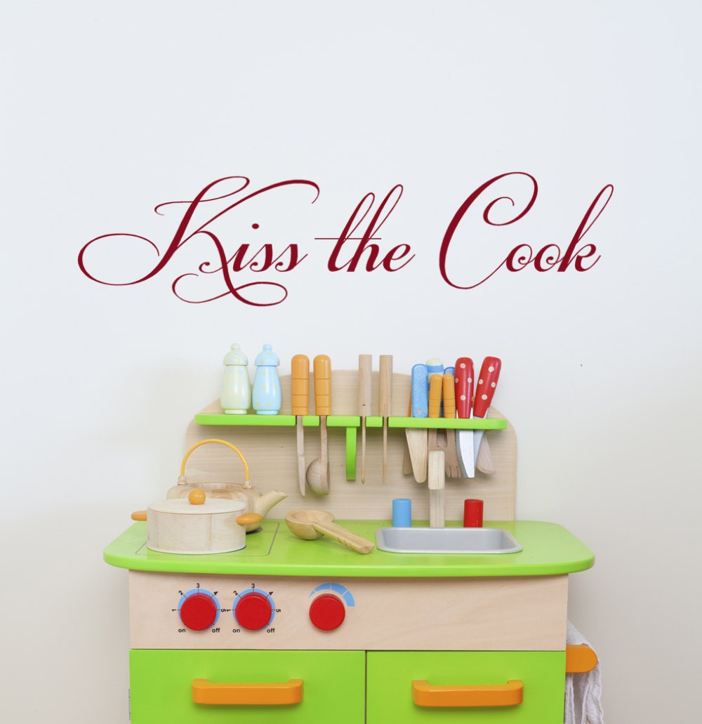 the cook kitchen decor words vinyl wall by householdwords