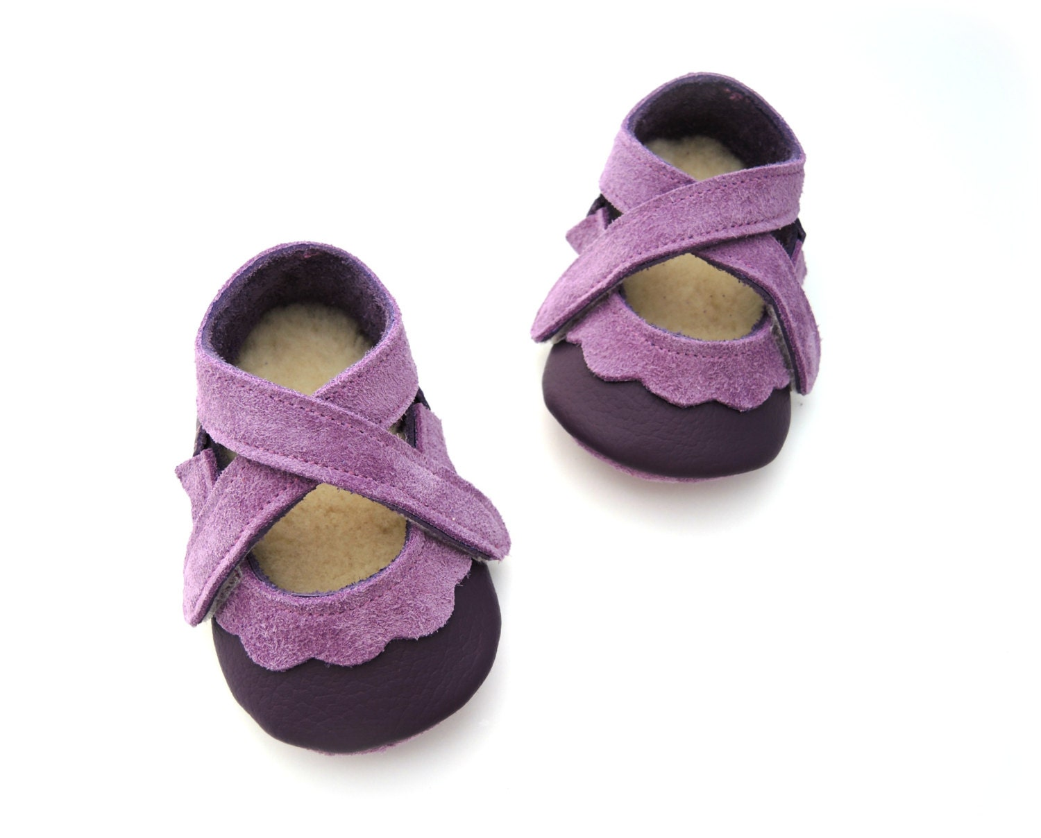 Handmade leather shoes for babies toddlers and by