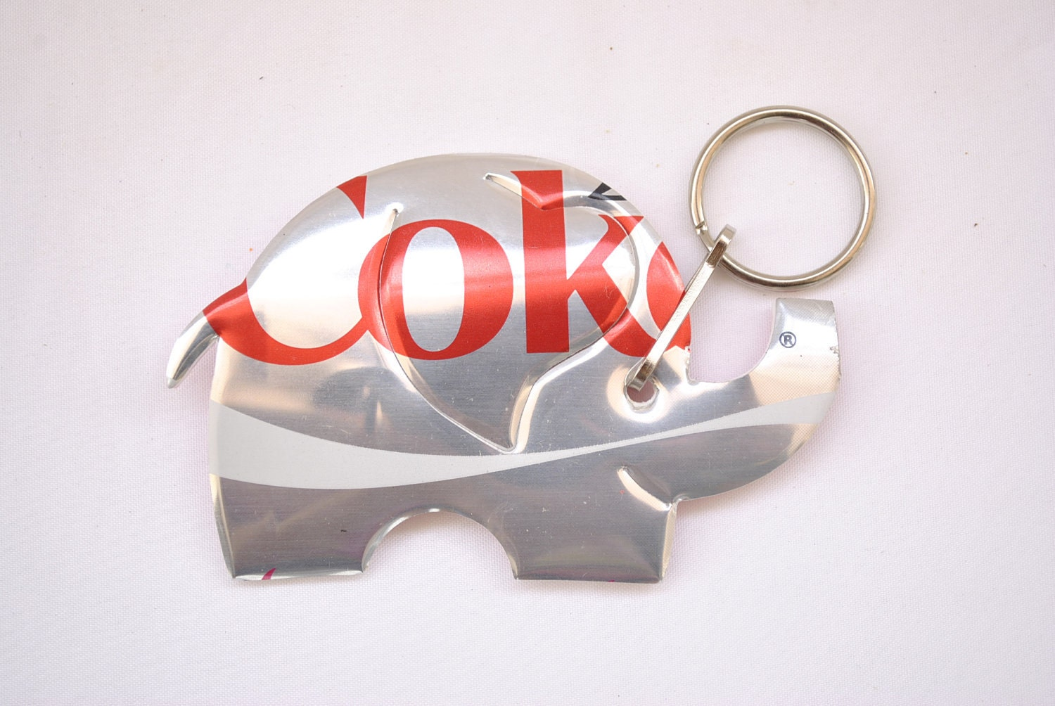 sheep ornament recycled  choose one of them   recycled can this fun looking