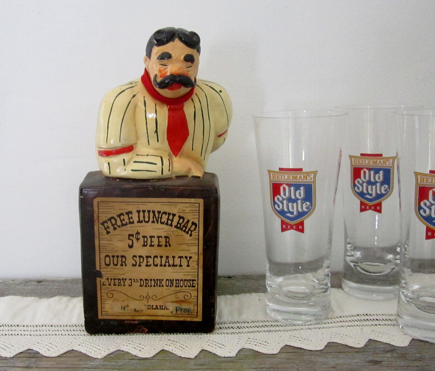Man Cave Gifts For Him : Vintage bar decor man cave gift for him by