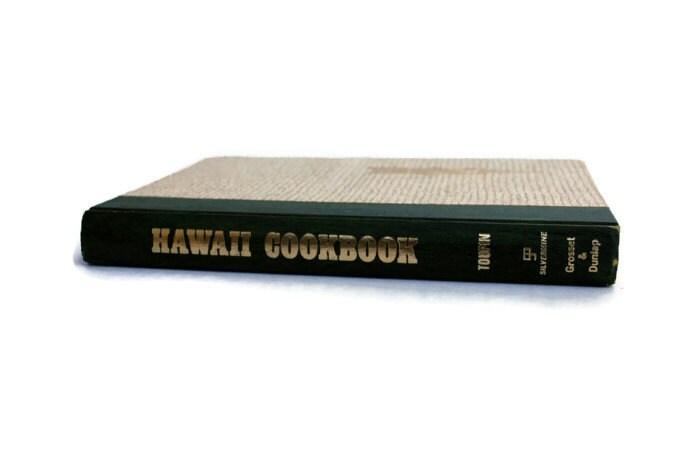 Vintage Hawaii Cookbook, 1968, Green - vintagetoyshoppe