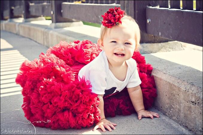 Милая Pettiskirt - Красный
