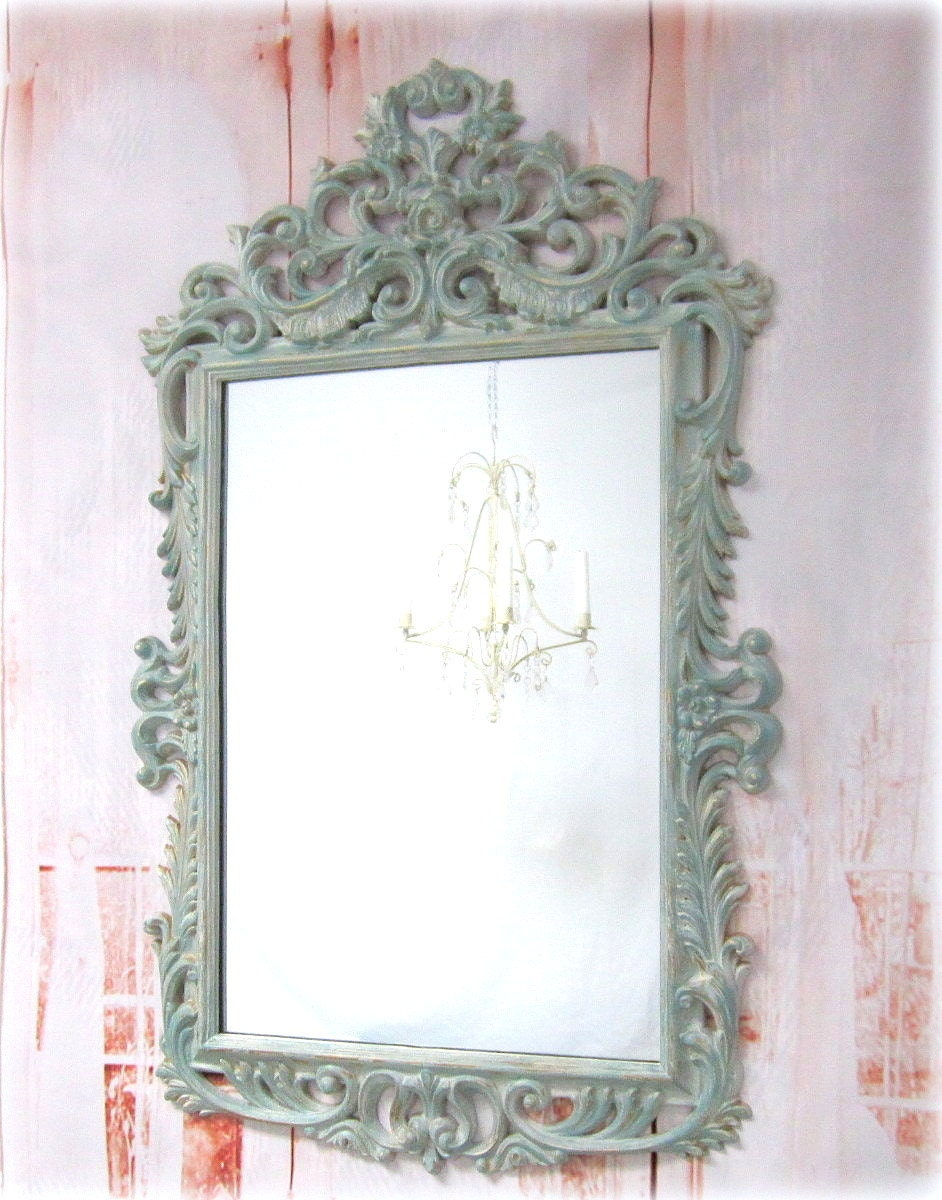 Reserved for lauralea for sale oval mirror by revivedvintage for Large wall mirrors for sale