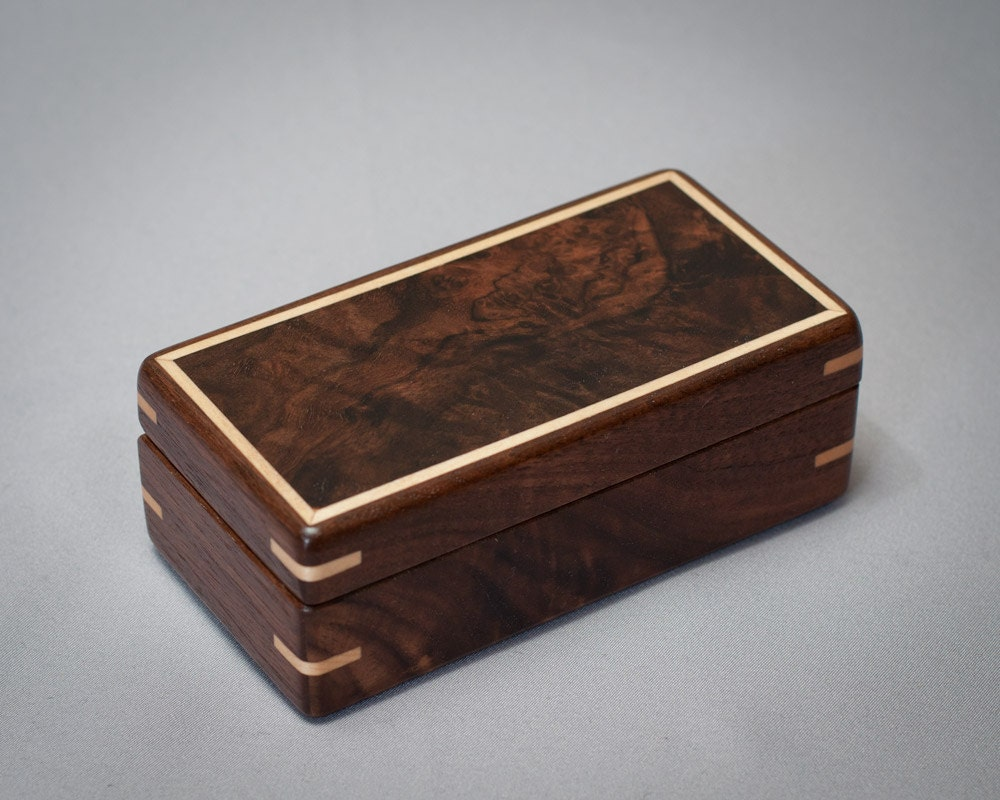 Decorative Box Lid : Items similar to small wooden box collector