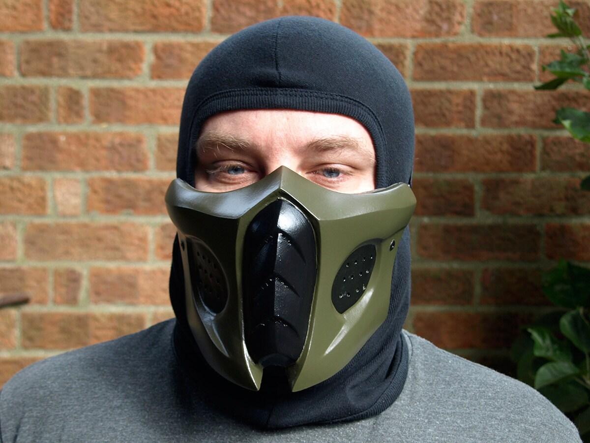 Mortal kombat smoke mask