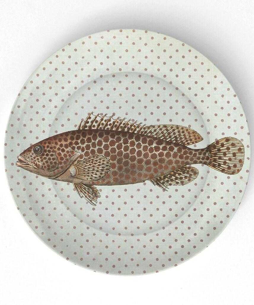 Sea Life FISH II de 1800 - 10 polegadas Placa de Melamina