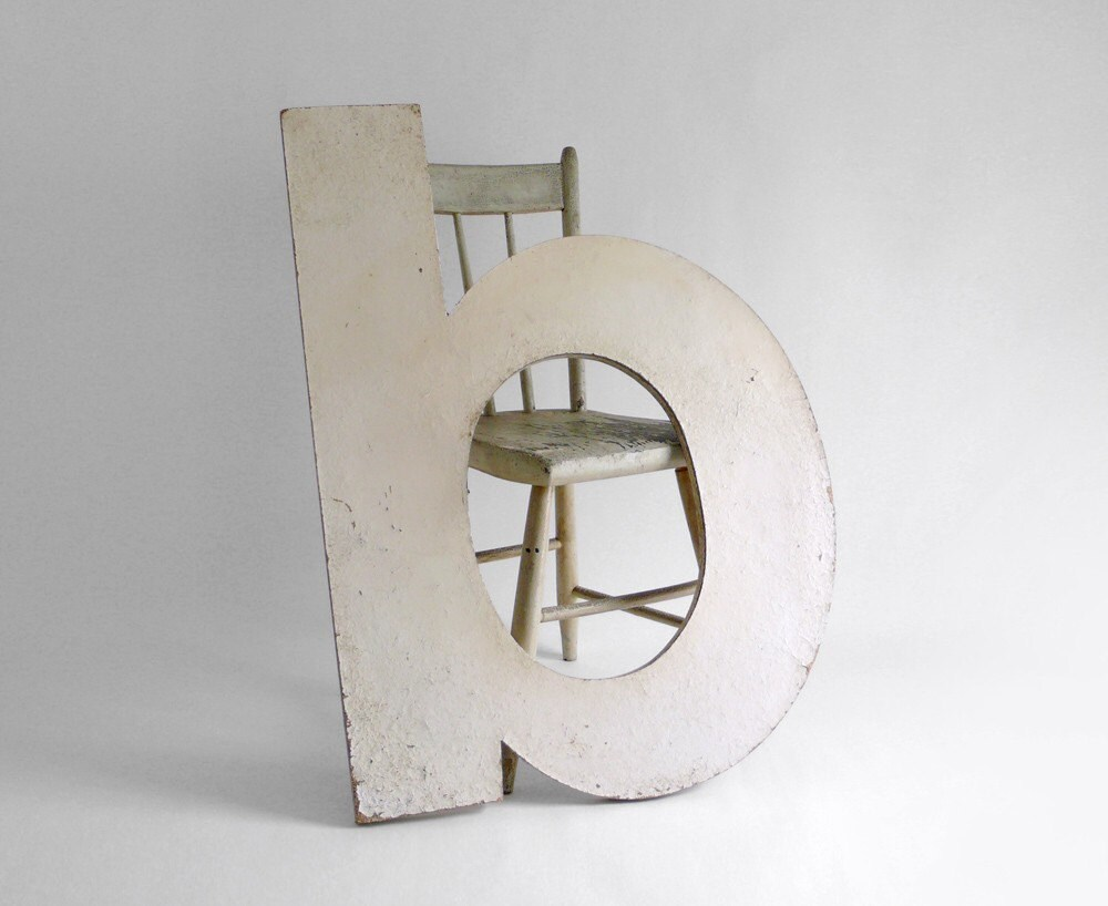 Items similar to large wood letter b on etsy for Big wooden letter b