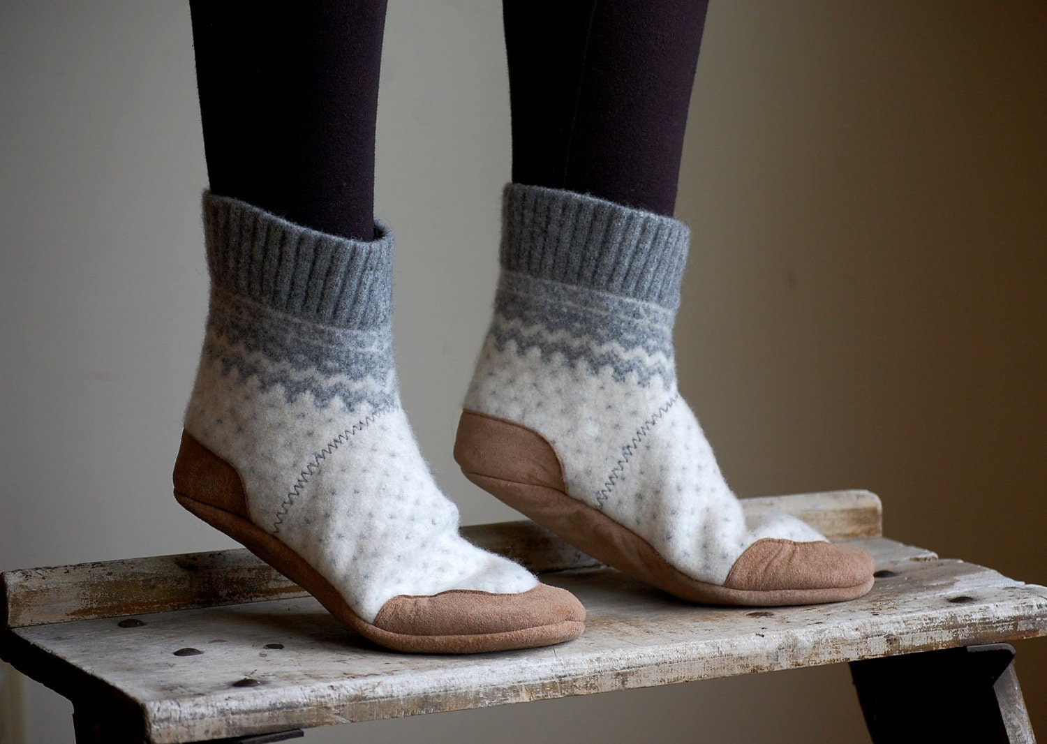 Slippers: ALL NEW WOOL HOUSE SLIPPERS FOR WOMEN