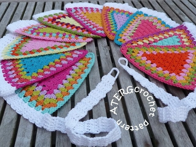 Crochet pattern GARLAND by ATERGcrochet by ATERGcrochet on Etsy