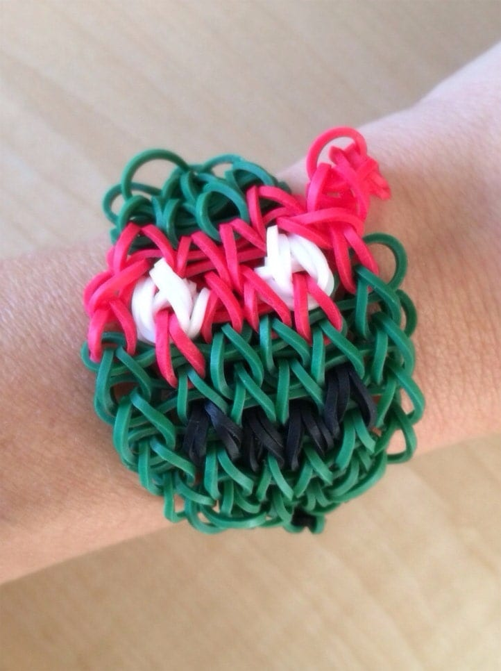 how to make a turtle out of loom bands