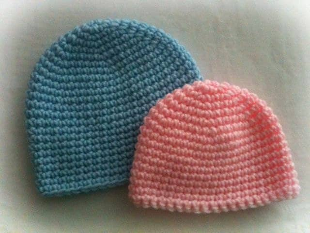 Basic Crochet Beanie PATTERN by ItsATealThing on Etsy