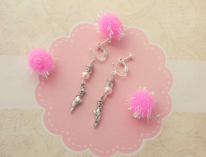 Clip on earrings for kids boys