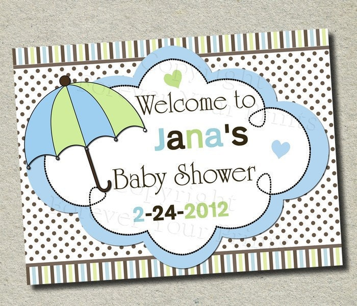items similar to baby boy baby shower party sign welcome sign diy
