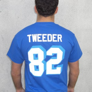 Charlie Tweeder 82 West Canaan Coyotes Jersey by MyPartyShirt