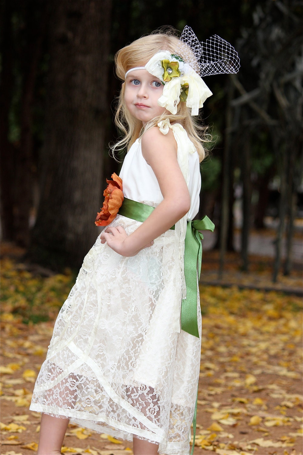 Vintage Inspired Lace Flower Girl Dresses - Mother Of The Bride ...