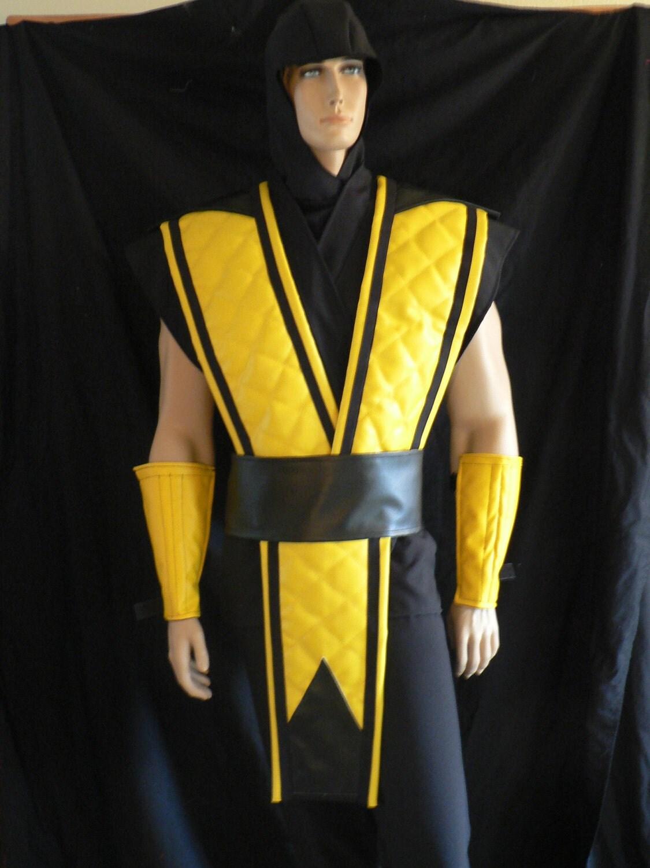 Как сделать костюм скорпиона из мортал комбат