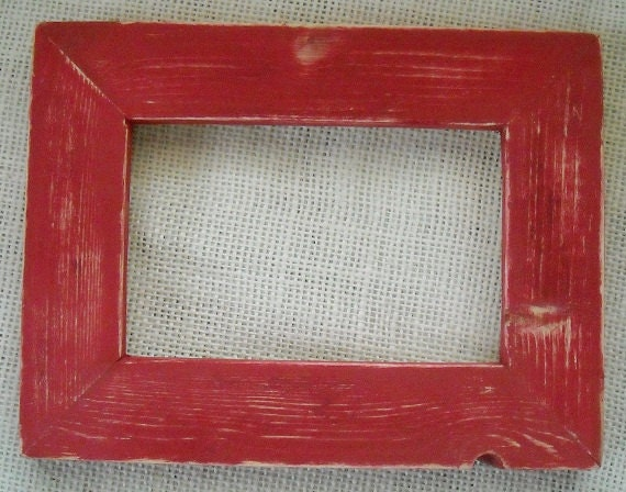Full Trend Rustic Picture Frames : ... to Picture frame 8x8 or 8x10 Red Rustic Weathered style on Etsy