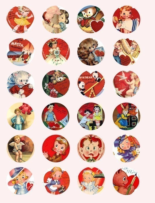 Displaying (18) Gallery Images For Vintage Valentine Heart Clip Art...