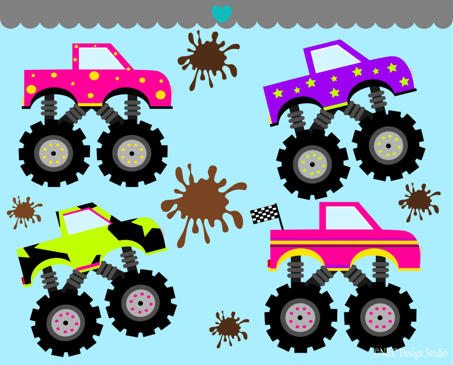 Pink Monster Trucks For Sale Images & Pictures - Becuo