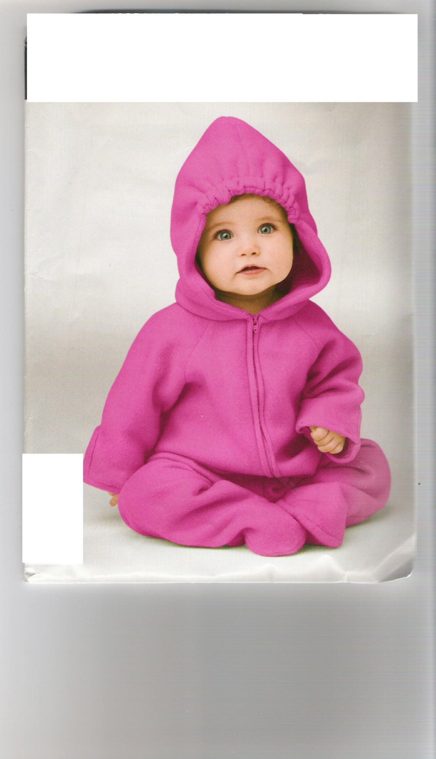Fleece, soft and warm one piece suit for baby - SunshineBabyandQuilt