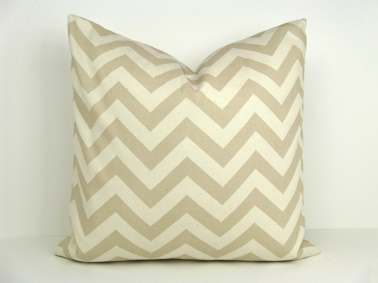Decorative Pillows Euro : Decorative Throw Pillows Euro Size Tan and Cream by EastAndNest
