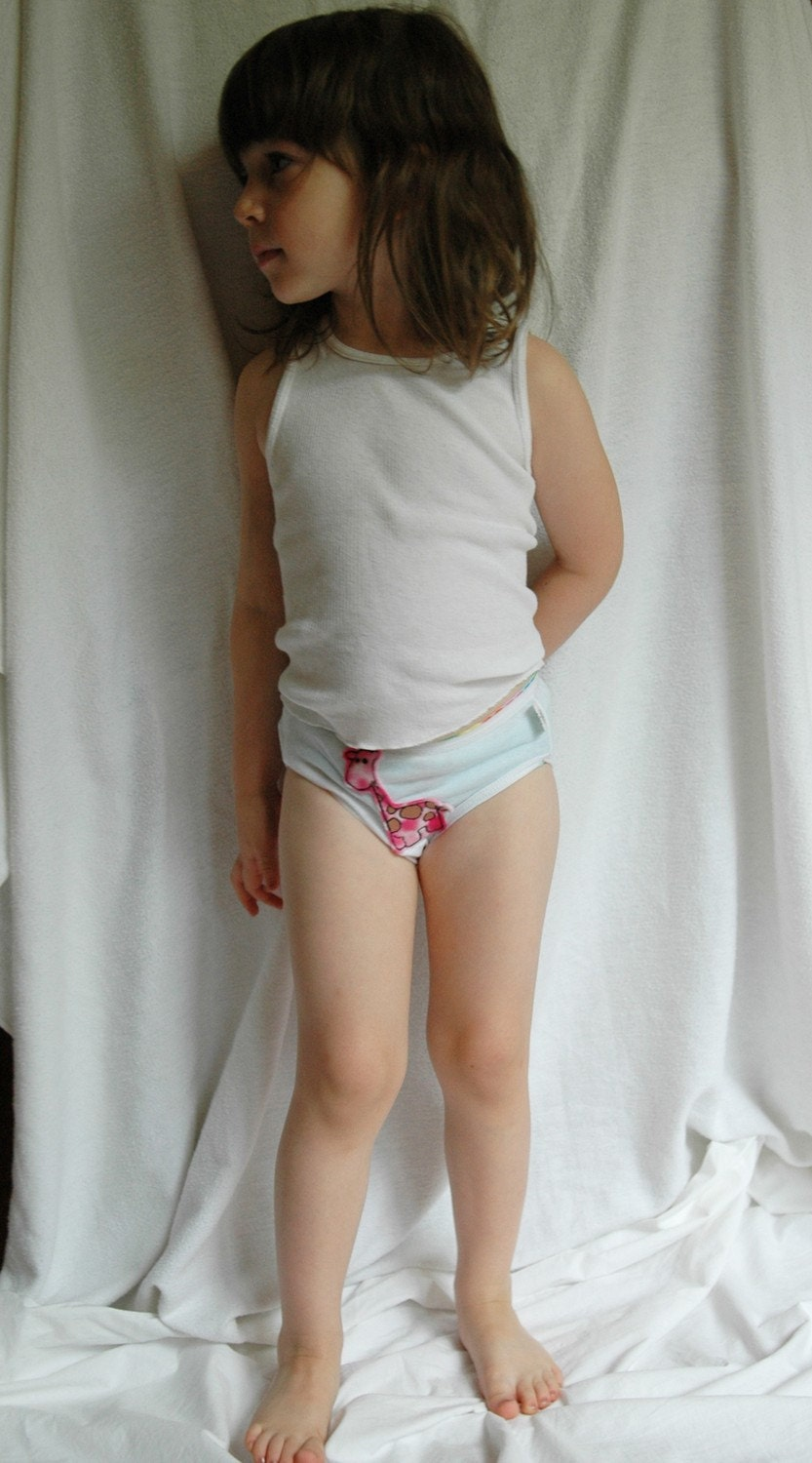 Little girls underwear zoom