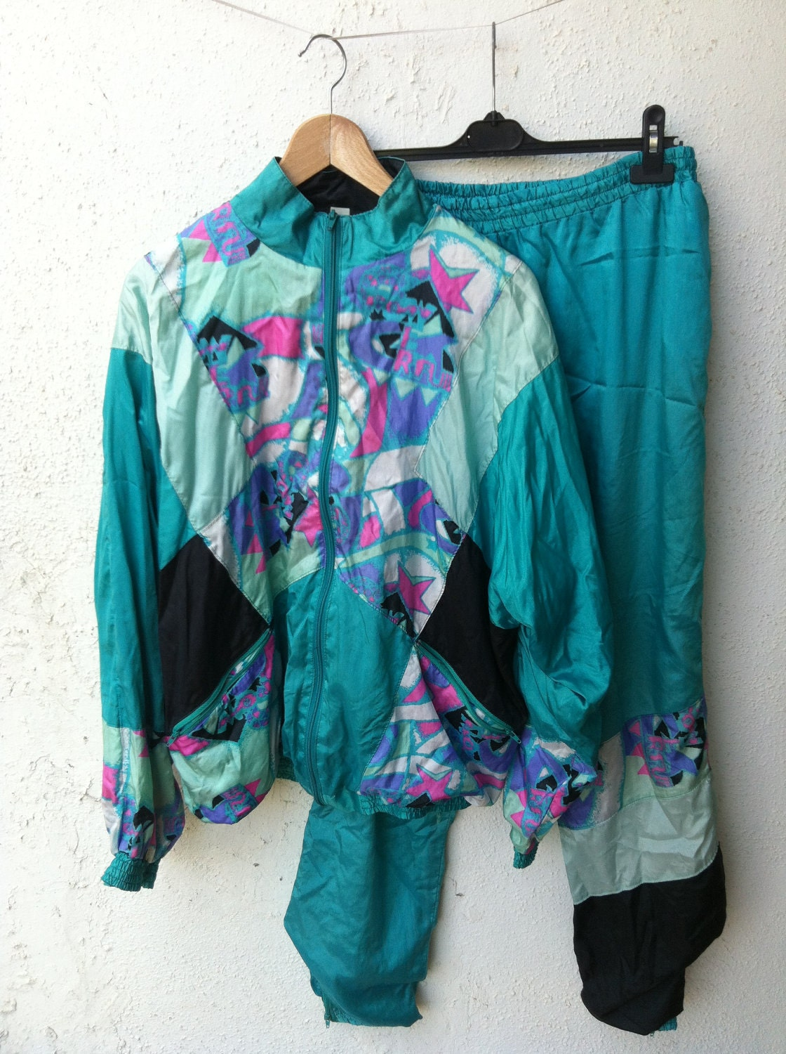 15 Dollar Sale Vintage 80 S Track Suit Windbreaker By Marinero