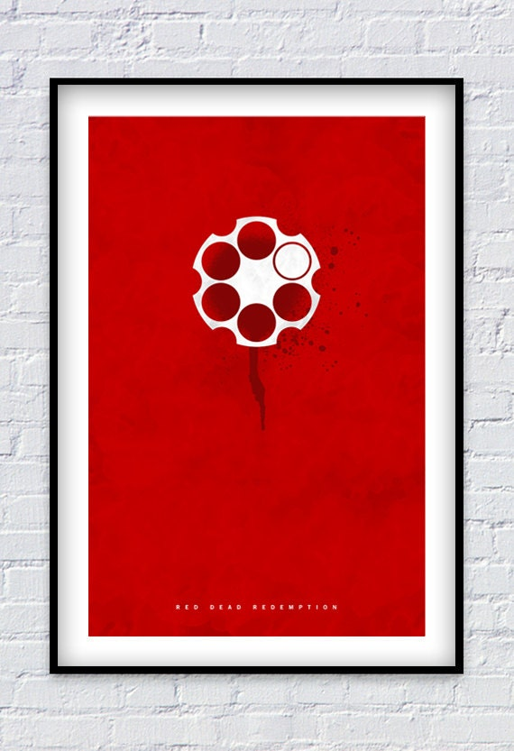 Red Dead Redemption Inspired Print 11x17 By Pixology On Etsy