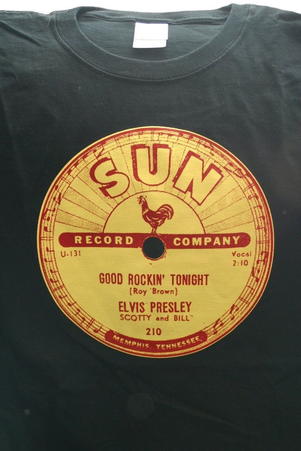 Elvis presley sun records classic 78 rpm record label by for Classic house record labels