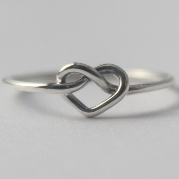 Infinity Knot Friendship Ring