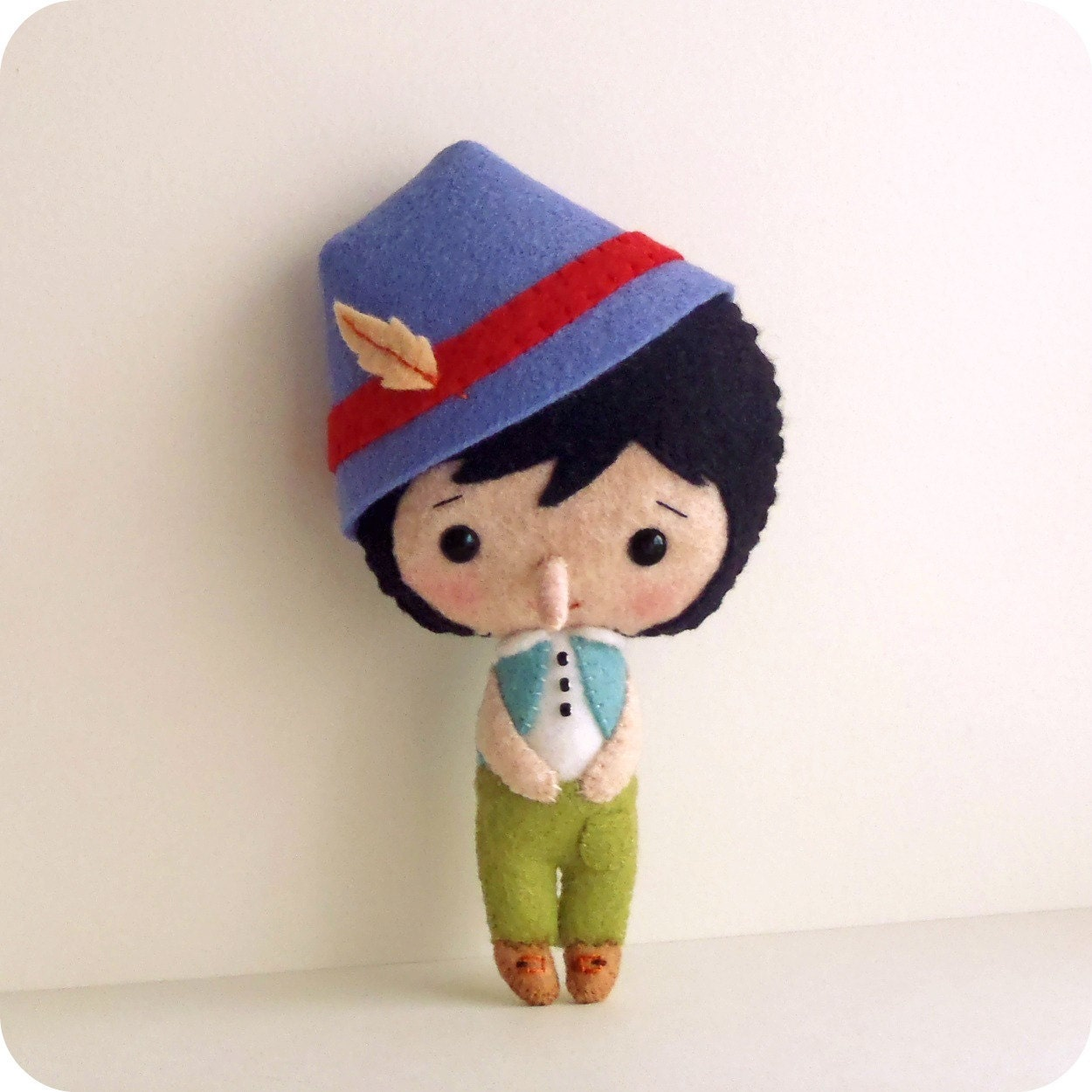 Pinocchio pdf pattern by gingermelon on etsy for Pinocchio hat template