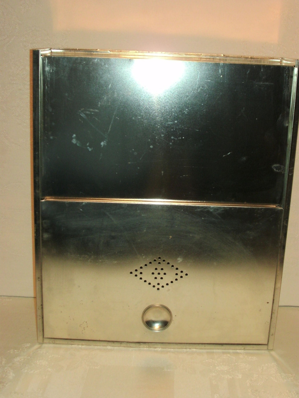 vintage metal bread box drawer hoosier sellers cabinet for replacement