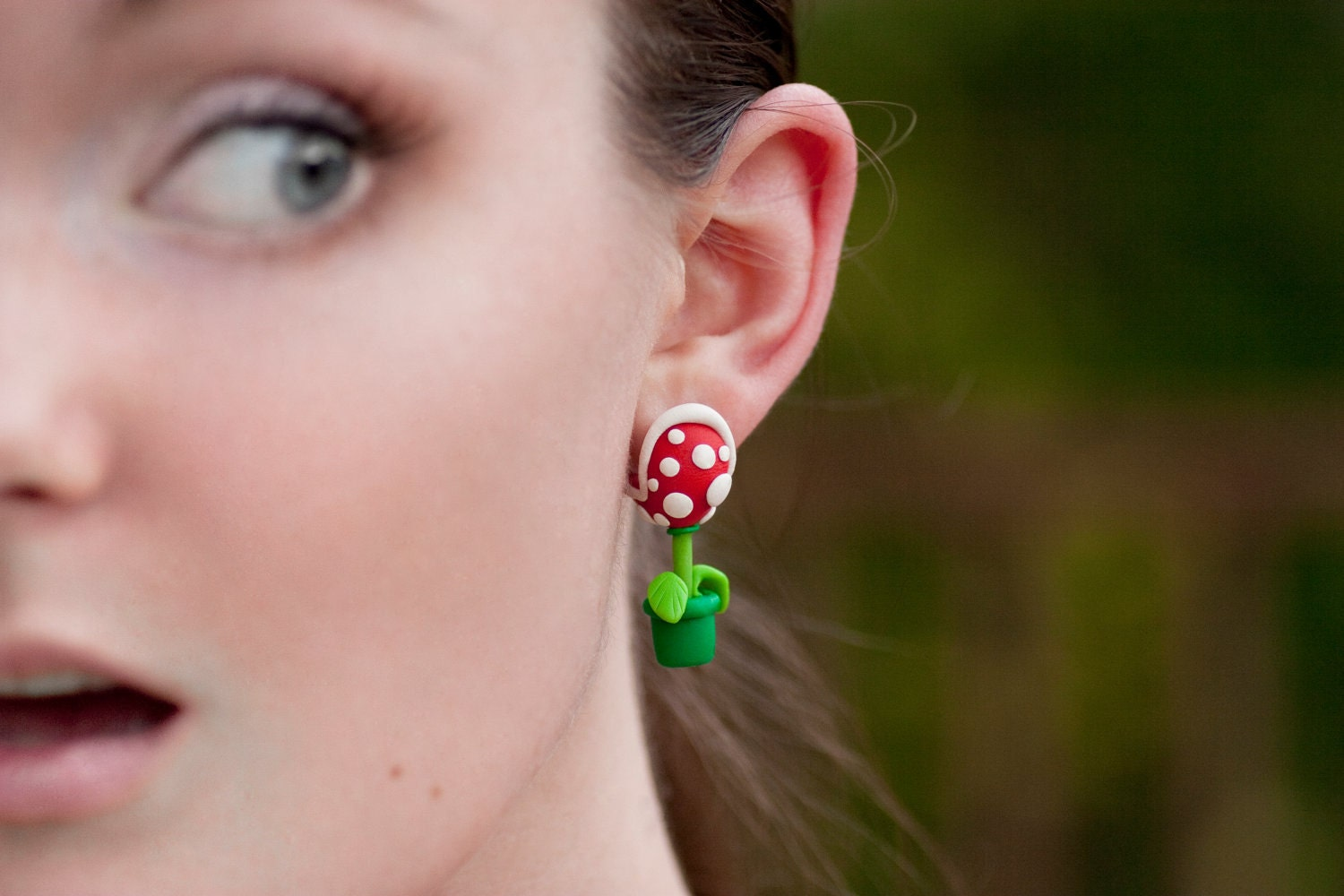 YOUCH Piranha Plant Earrings