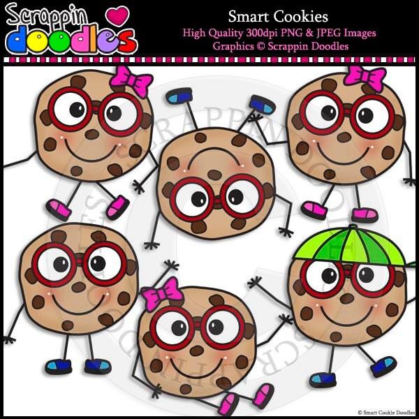 Smart cookie clip art
