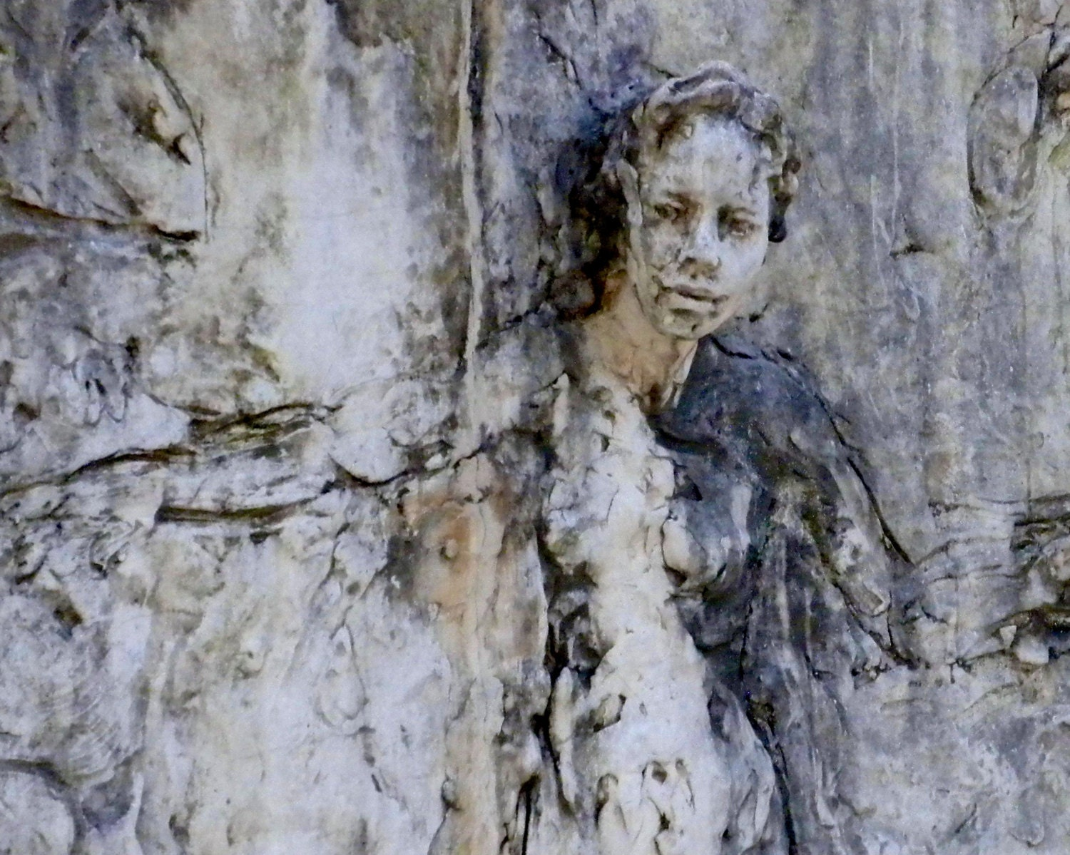 Fine Art Photography-Woman Breaking Free- Travel, Southern, Artistic, Sculptural Photography-8x10 Wall Art - PetitePastiche