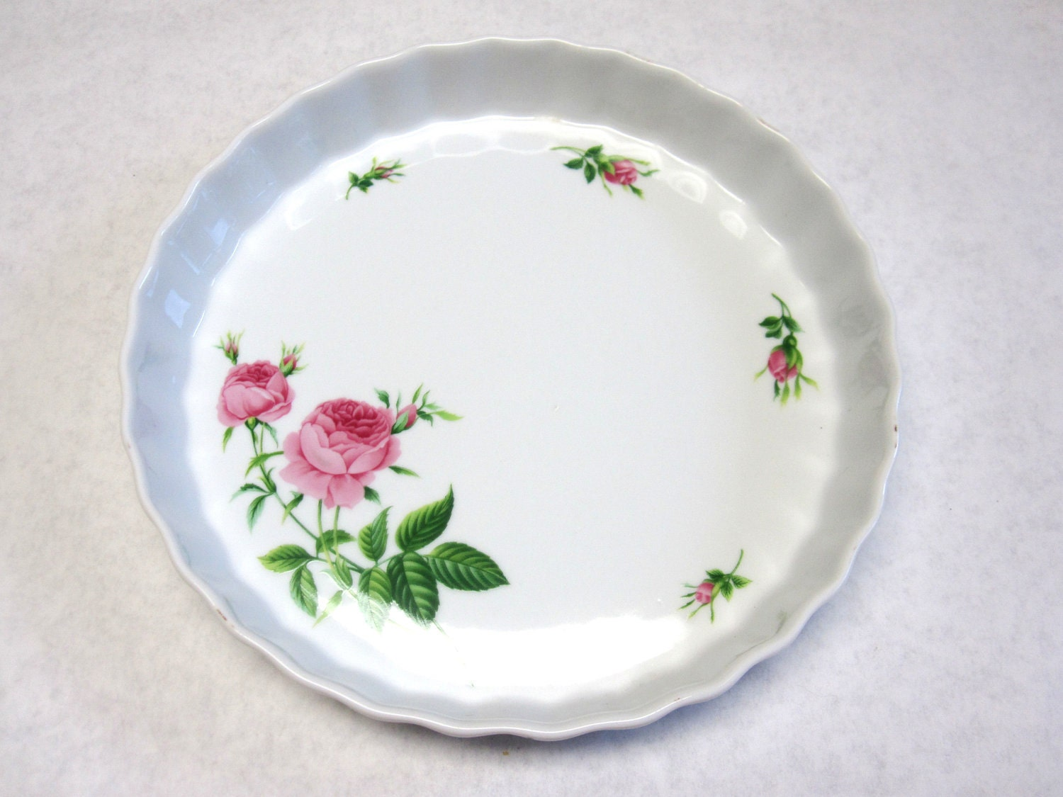 Pie Pan Decorative Plate Quiche Christineholm By