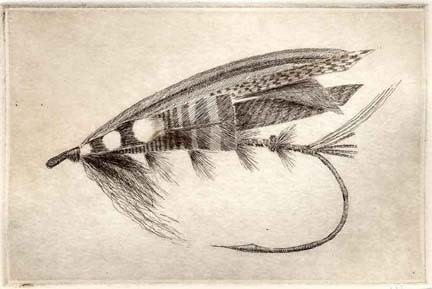 Fly Fishing Drawings