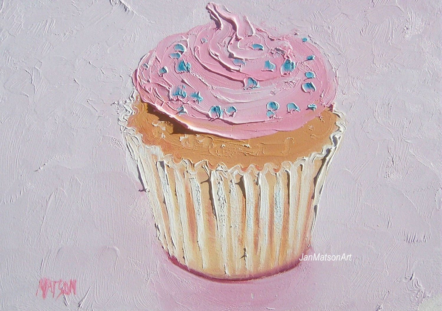 Http Www Etsy Com Listing 158894251 Cupcake Painting Kitchen Decor Country