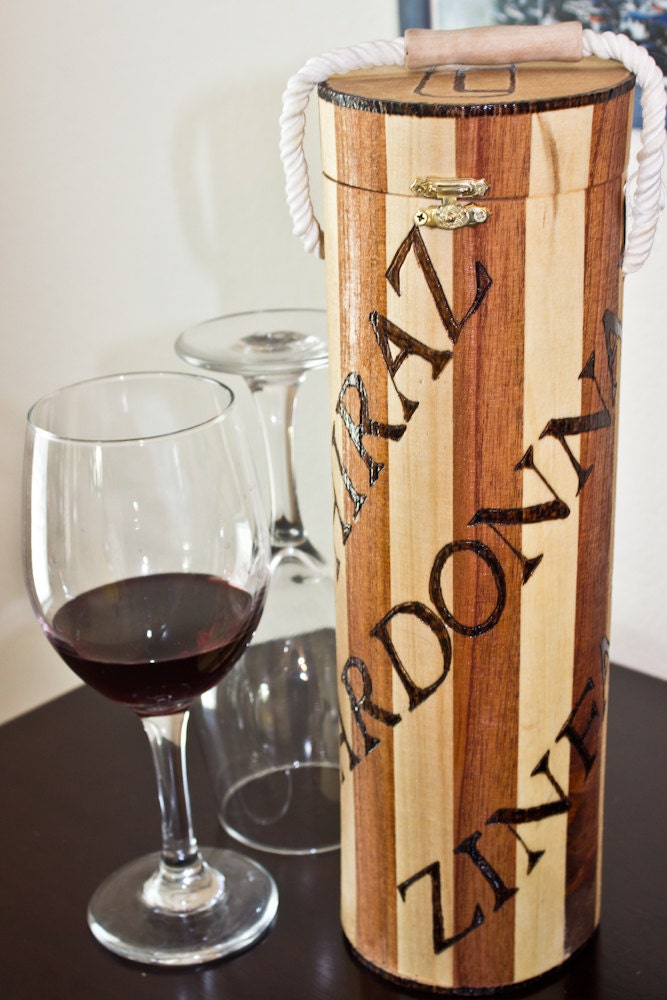 What Will It Be Cylinder Wine Box