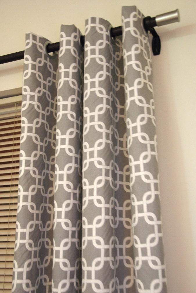 trellis link designer window curtain panels by maisonboutique